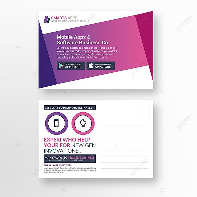 Aplicao mvel carto postal modelo para download gratuito no pngtree aplicao mvel carto postal modelo reheart Images