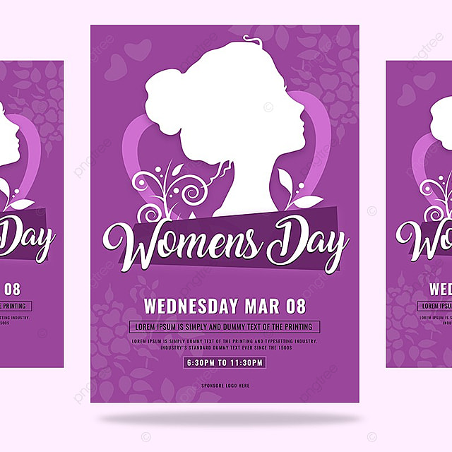 Womens Day Flyer Template Template For Free Download On