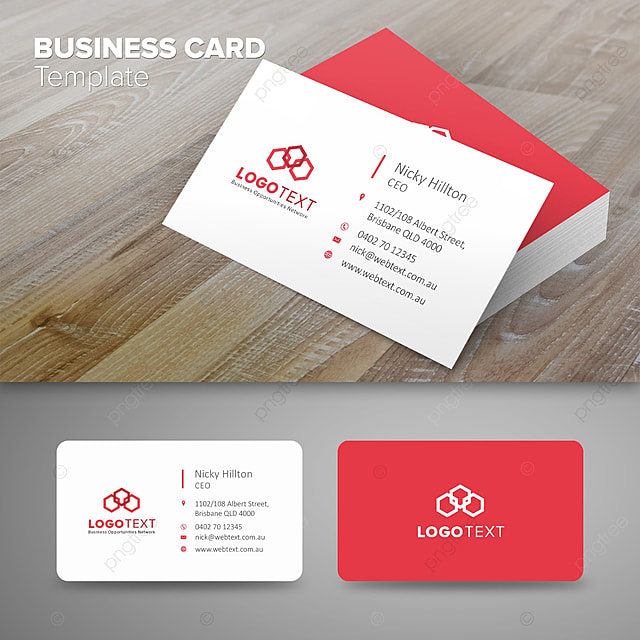 professional business card template for free download on pngtree