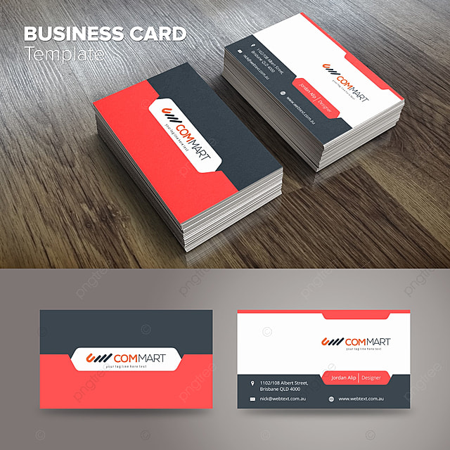 Modern Business Card Template Template For Free Download On Pngtree