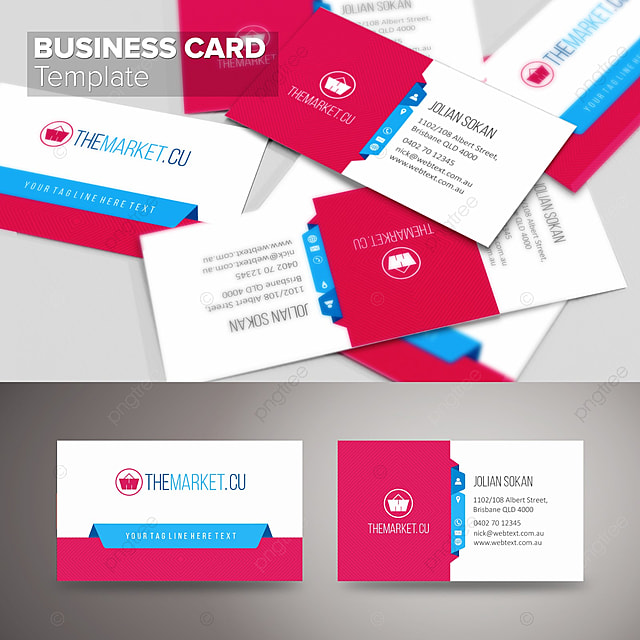 Modern business card template modelo para download gratuito no pngtree modern business card template modelo reheart Images