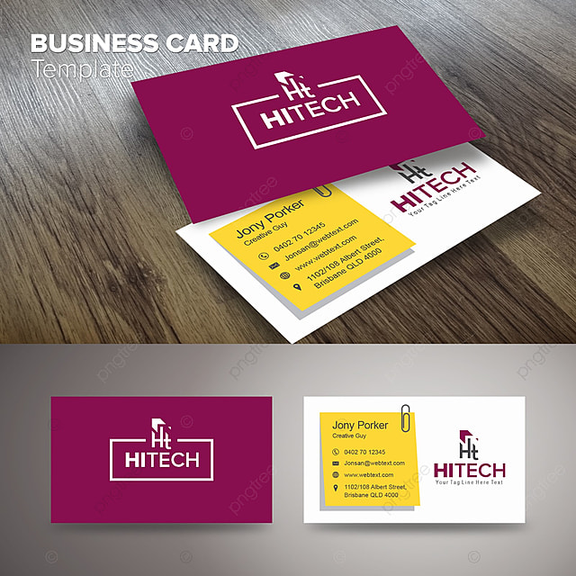 Professional business card template for free download on pngtree professional business card template reheart Choice Image