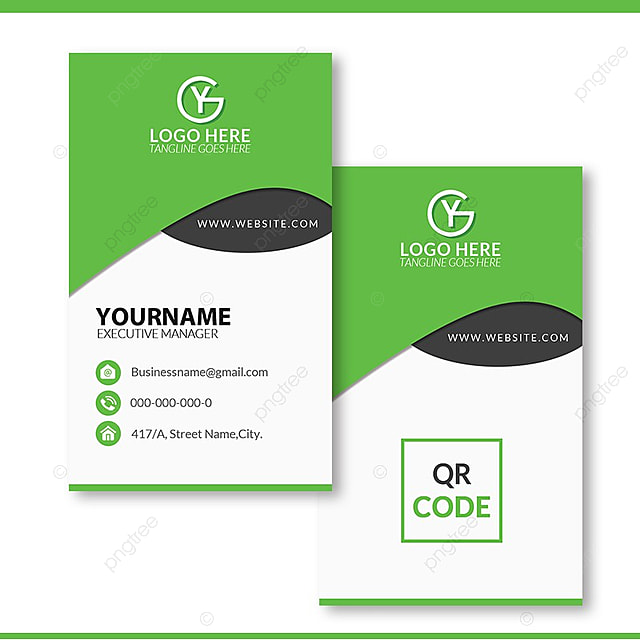 Fresh And Creative Business Card Psd Template Template For Free
