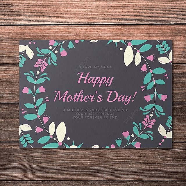 happy mother u0026 39 s day card template template for free