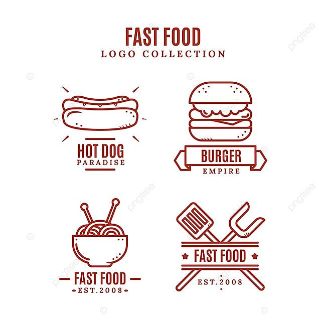 Kitchen Art Logo: Fast Food Logo Collection Descarga Gratuita De Plantilla