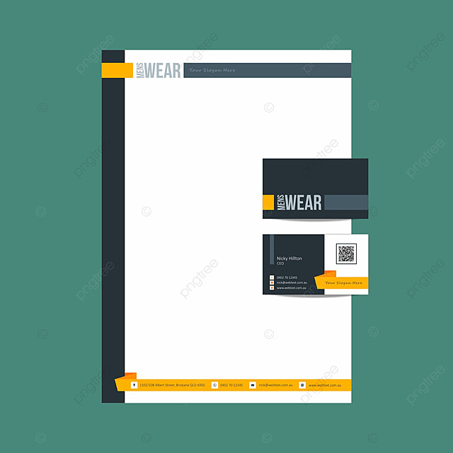 Professional business card and letterhead design layout fully professional business card and letterhead design layout fully editable vector graphics template reheart Image collections