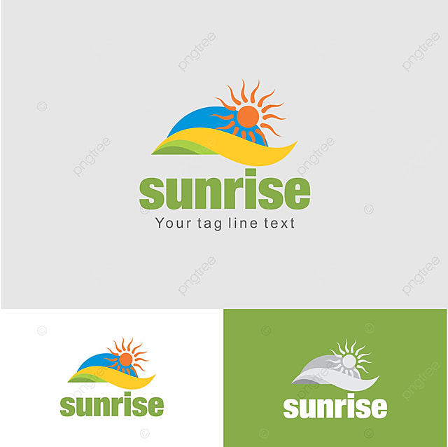 sunrise logo design template template for free download on pngtree
