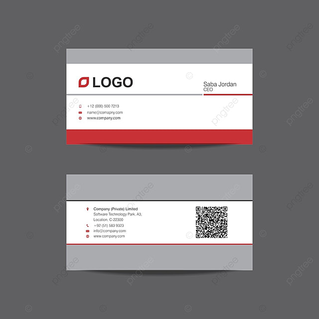 Professional Business Card Design Template Template For Free