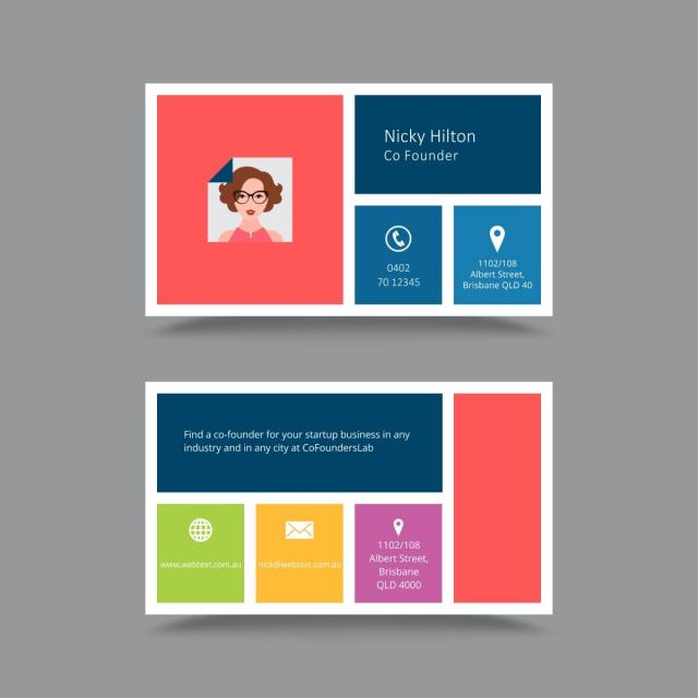 Professional business card design template template for free professional business card design template template fbccfo Choice Image