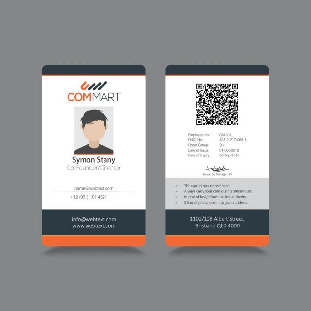 Professional business card design template template free download professional business card design template reheart Images