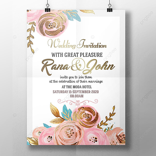 Wedding Invitation Template.Royal Wedding Invitation Template For Free Download On Pngtree