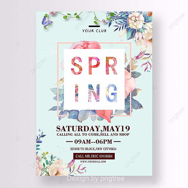 spring sale template for free download on pngtree