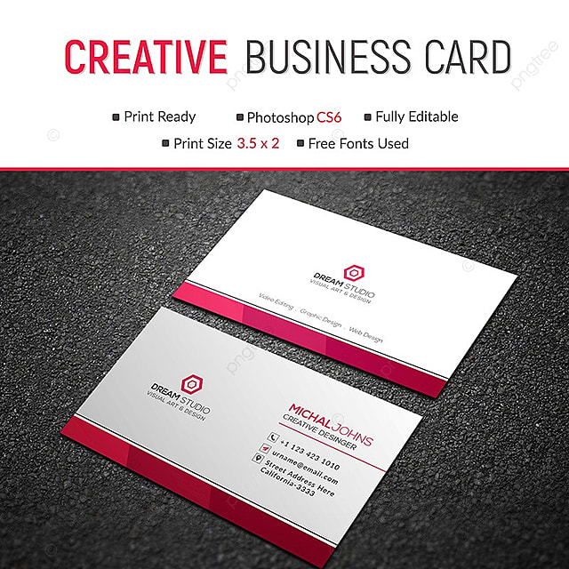 Business Card Template Template For Free Download On Pngtree