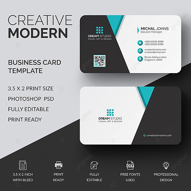 Business card template template for free download on pngtree business card template template wajeb Images