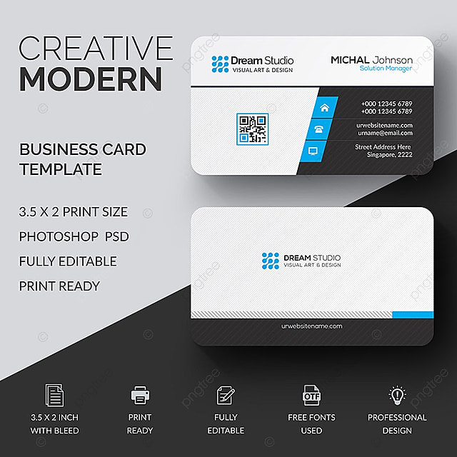Business card template template for free download on pngtree business card template template reheart Images