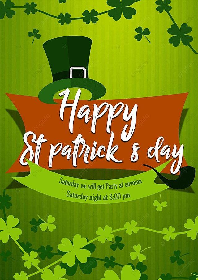 St Patricks Day Poster Descarga gratuita de plantilla en Pngtree