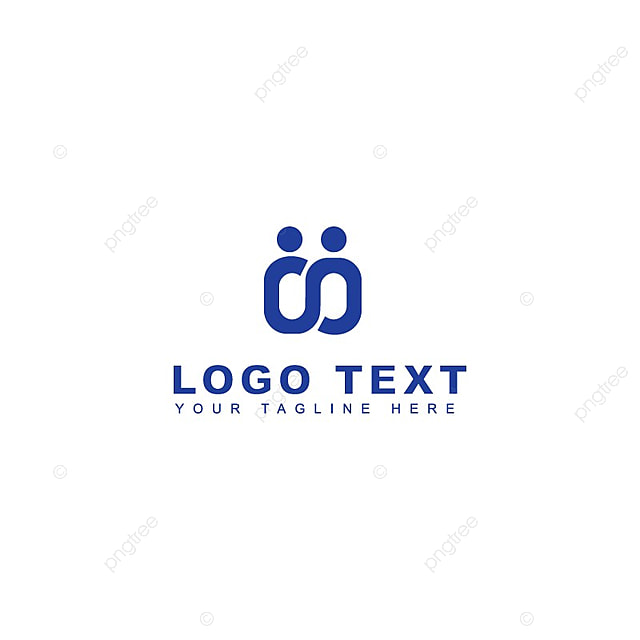 people connect logo template for free download on pngtree
