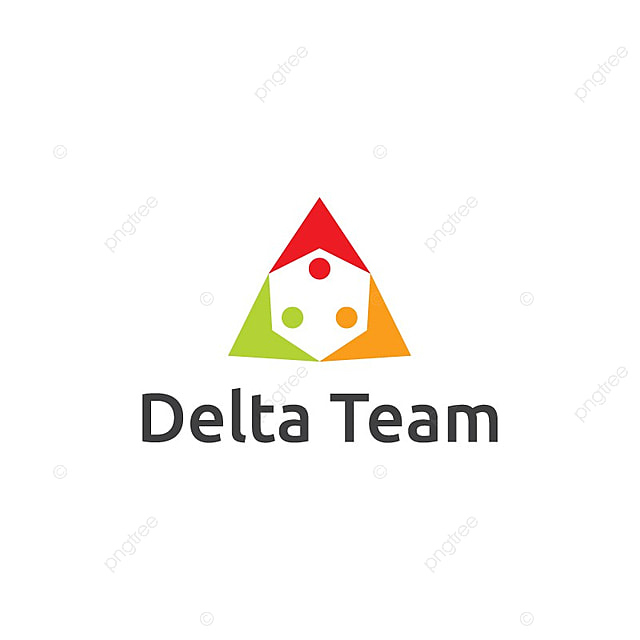Delta Team Logo Template for Free Download on Pngtree
