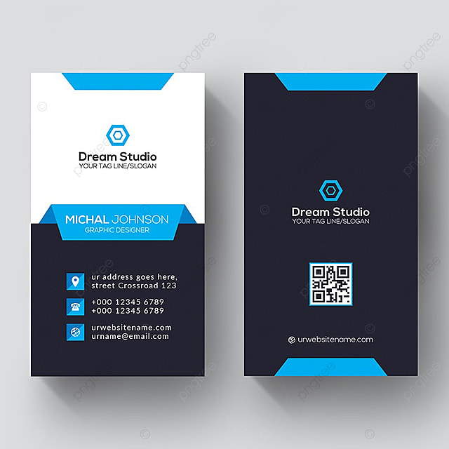 Corporate creative vertical business card template for free download corporate creative vertical business card template reheart Choice Image