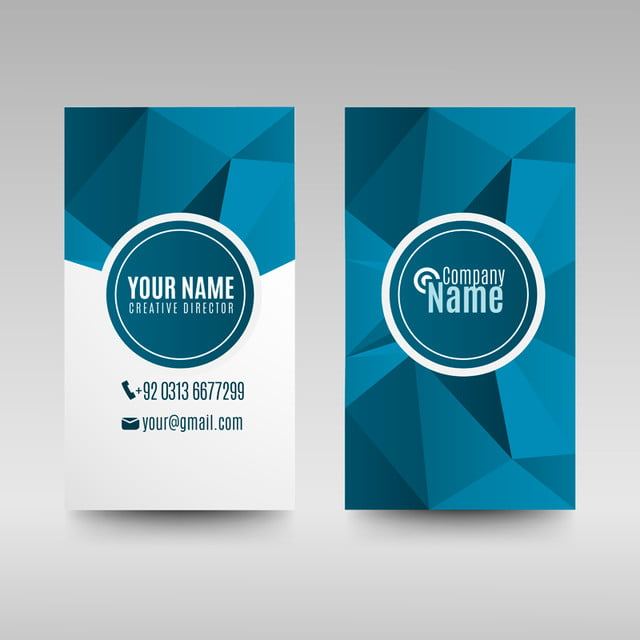 Blue business card template template for free download on pngtree blue business card template template flashek Images
