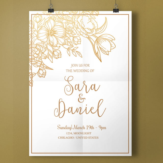 simple white wedding template for free download on pngtree