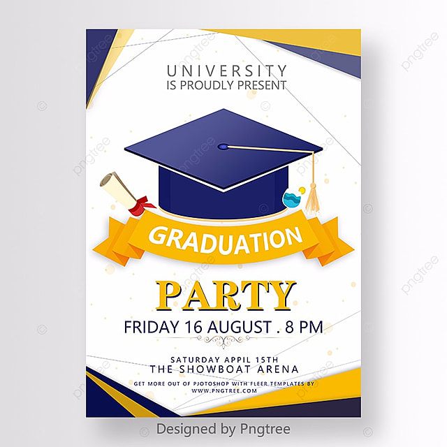 Graduation Poster Template For Free Download On Pngtree