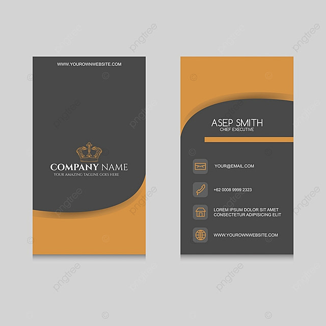 Elegant Business Card Template For Free Download On Pngtree