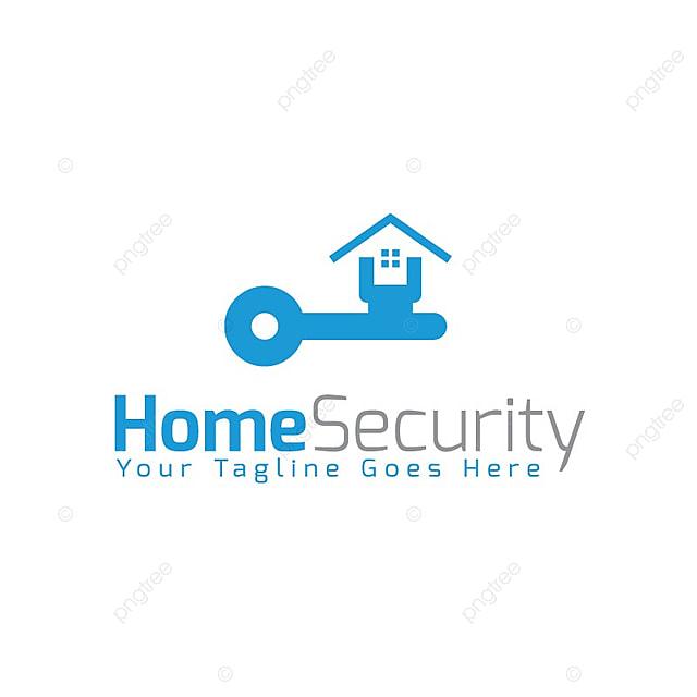 Home Security logo Descarga gratuita de plantilla en Pngtree