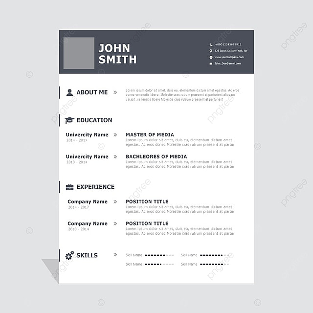 curriculum vitae template 3 template for free download on