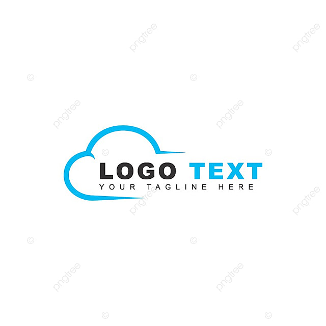 cloud logo template for free download on pngtree