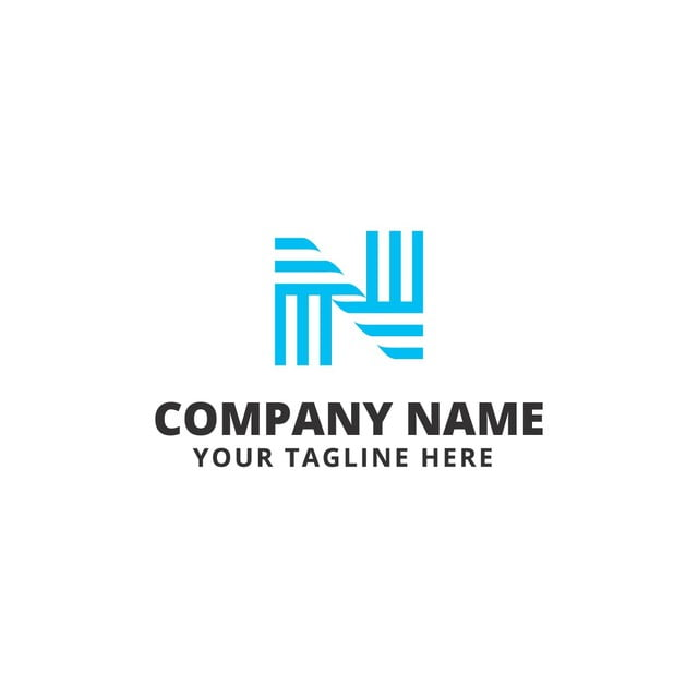N letter logo template for free download on pngtree n letter logo template spiritdancerdesigns Image collections