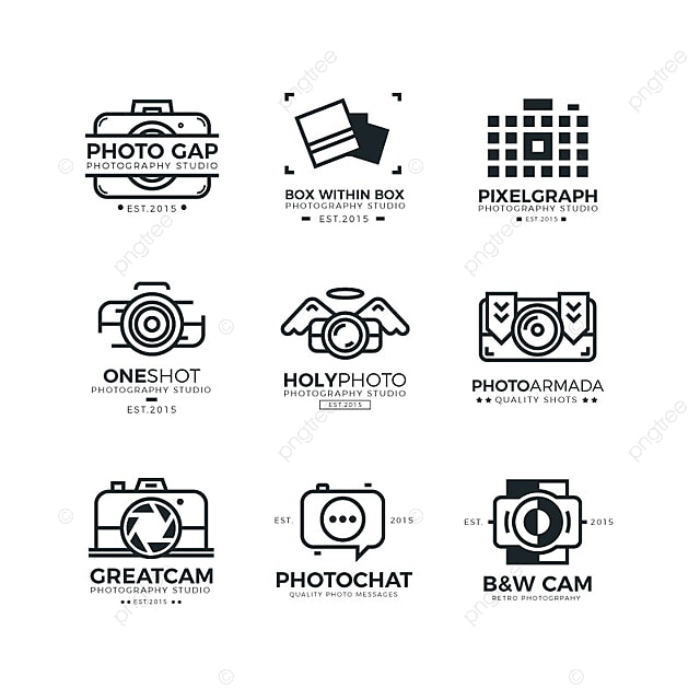 Photography Logo Template for Free Download on Pngtree