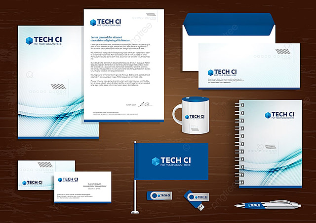 Corporate identity design stationery template for free download on corporate identity design stationery template maxwellsz