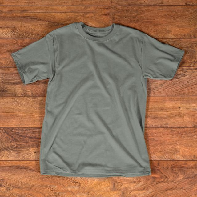 t shirt gray mockup template