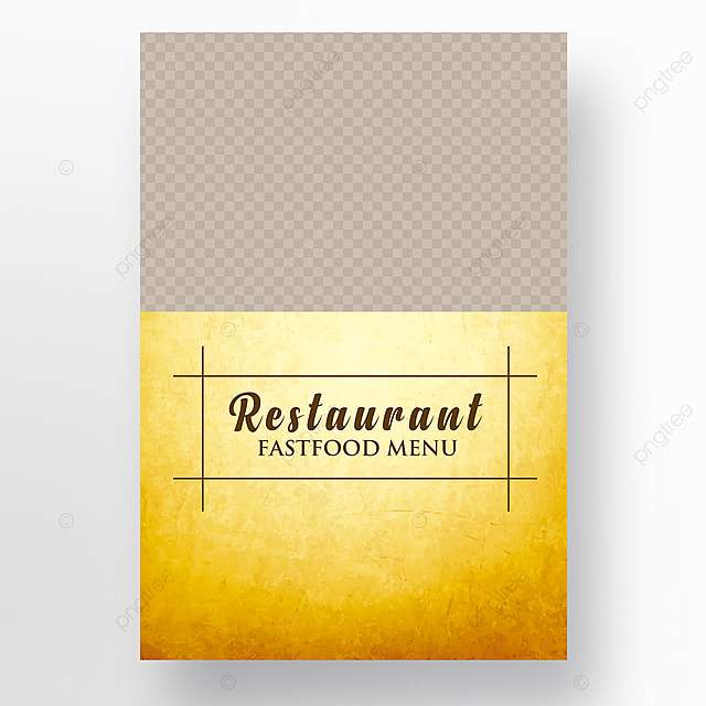 Food Menu Brochure Template For Free Download On Pngtree - Menu brochure template