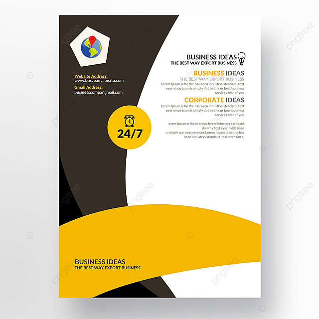 business flyer templates template for free download on pngtree