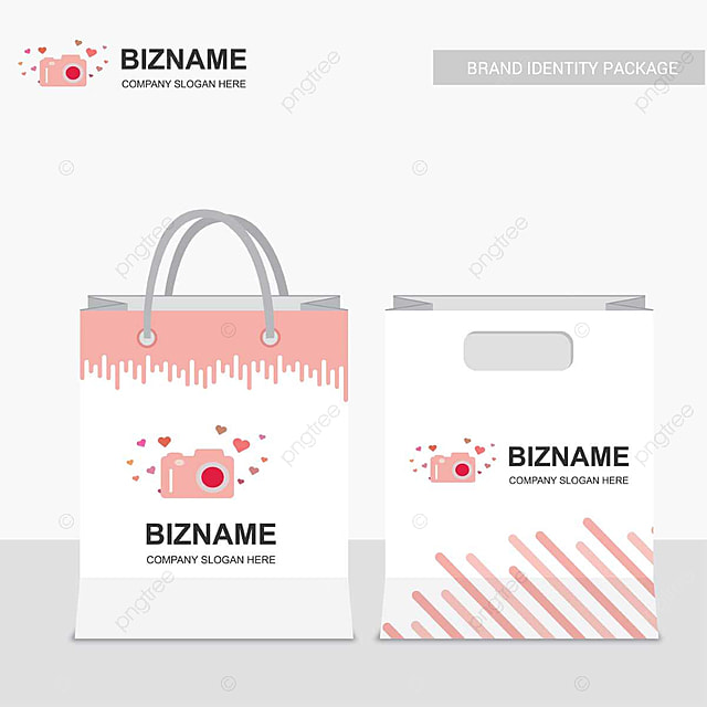 Company Shopping Bag Design Template for Free Download on ...