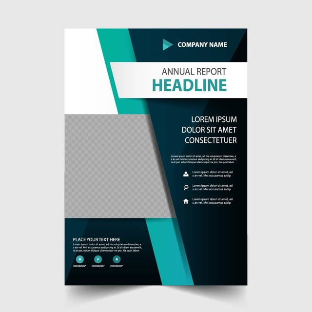 Green Annual Report Design Vector Template For Free Download On Pngtree