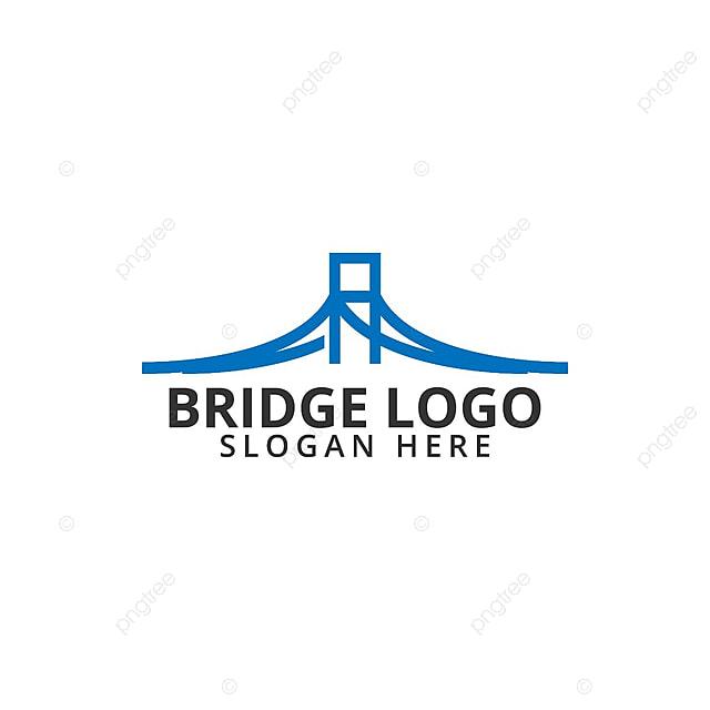 Puente logo Icon plantilla Descarga gratuita de plantilla en Pngtree