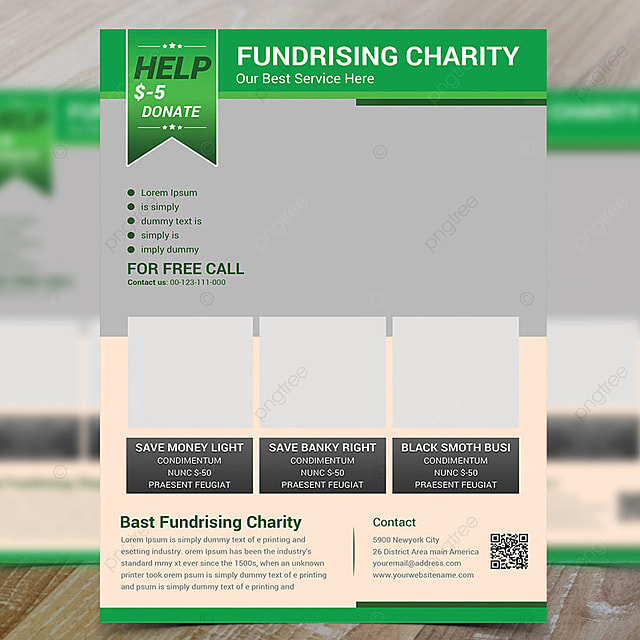 Donation Flyer Template Template For Free Download On Pngtree