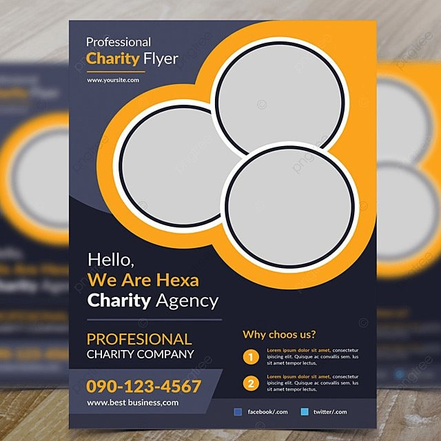 Charity Flyer Template For Free Download On Pngtree - Charity flyer template free