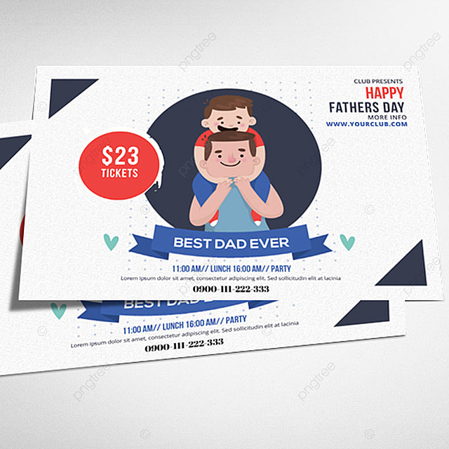 best dad card template for free download on pngtree