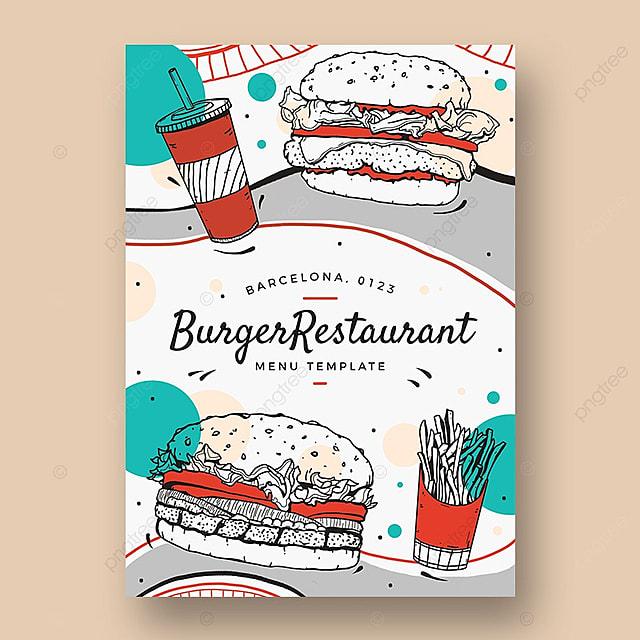 Comida rapida Flyer template Descarga gratuita de plantilla en Pngtree