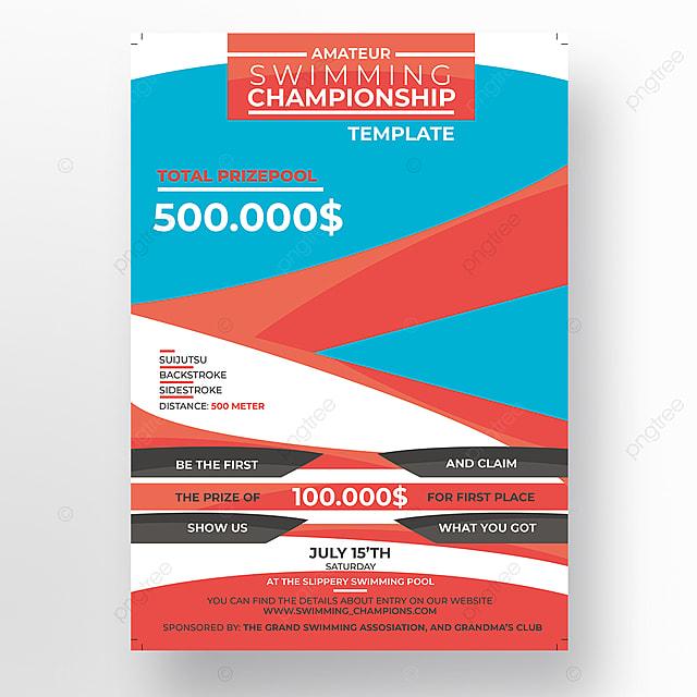 sport flyer template template