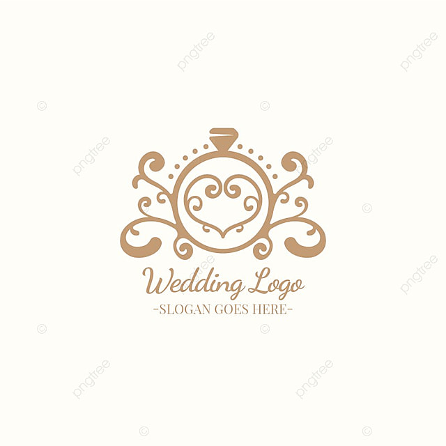 wedding logo design template for free download on pngtree