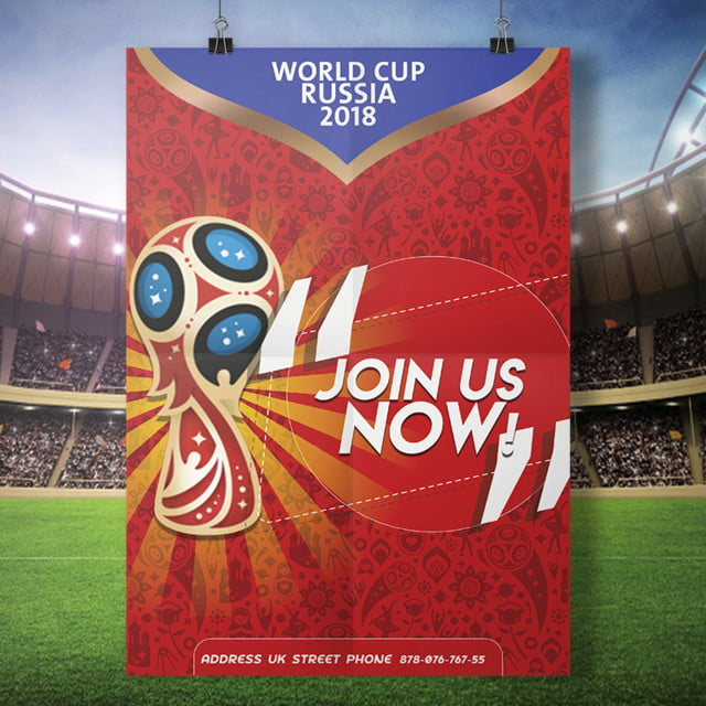 Russia World Cup flyer 2018 Template for Free Download on Pngtree