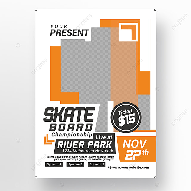 Extreme Sport Competition Flyer Template For Free Download On Pngtree