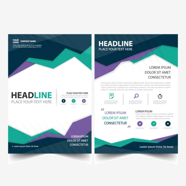 colorful brochure template template - Colorful Brochure Templates