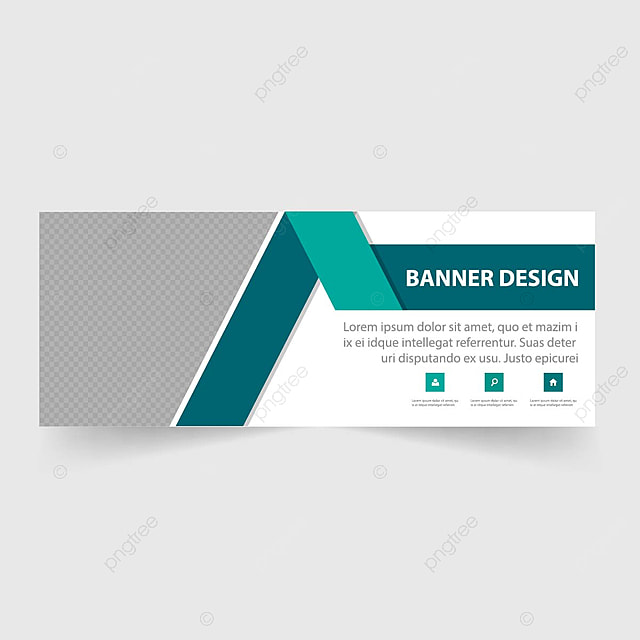 green business banner template template for free download