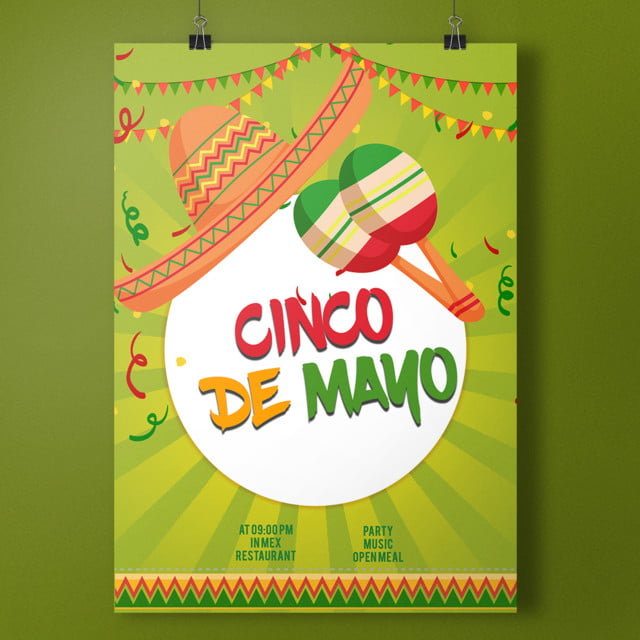 mexican cinco de mayo poster template for free download on pngtree